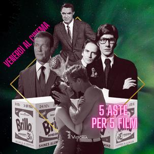 Venerdì al cinema - 5 aste per 5 film