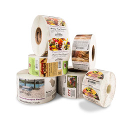 Blank & Full Color Labels