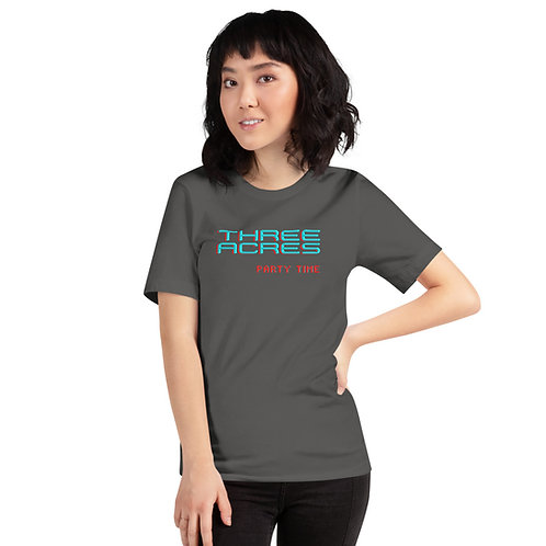 Three Acres Party Time Adult Tee