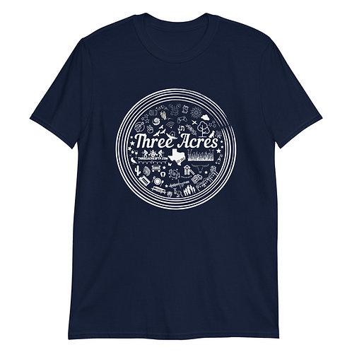 Three Acres Circle Logo Shirt Unisex