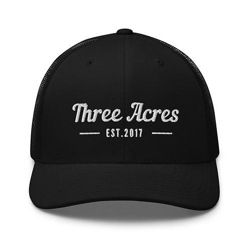 Three Acres Trucker Cap