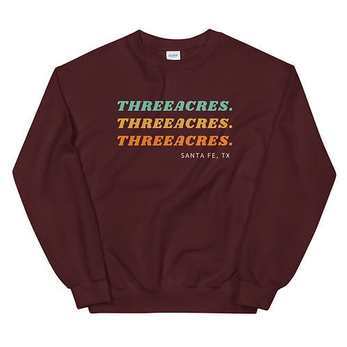 Three Acres Unisex Sweatshirt