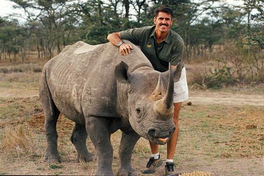 Ron & Rhino Morani in Kenya