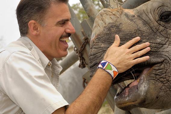 Ron & Indian Rhino