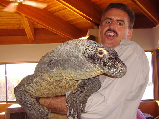 Ron & Komodo Dragon