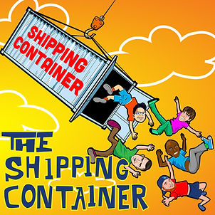 Dan Le Batard Show Shipping Container