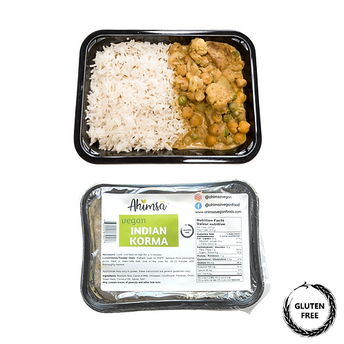 Ahimsa Vegan Indian Korma