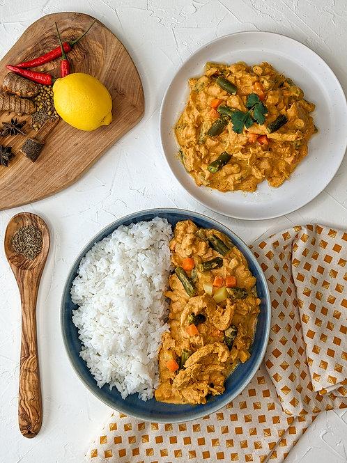 Ahimsa Vegan Massaman Curry