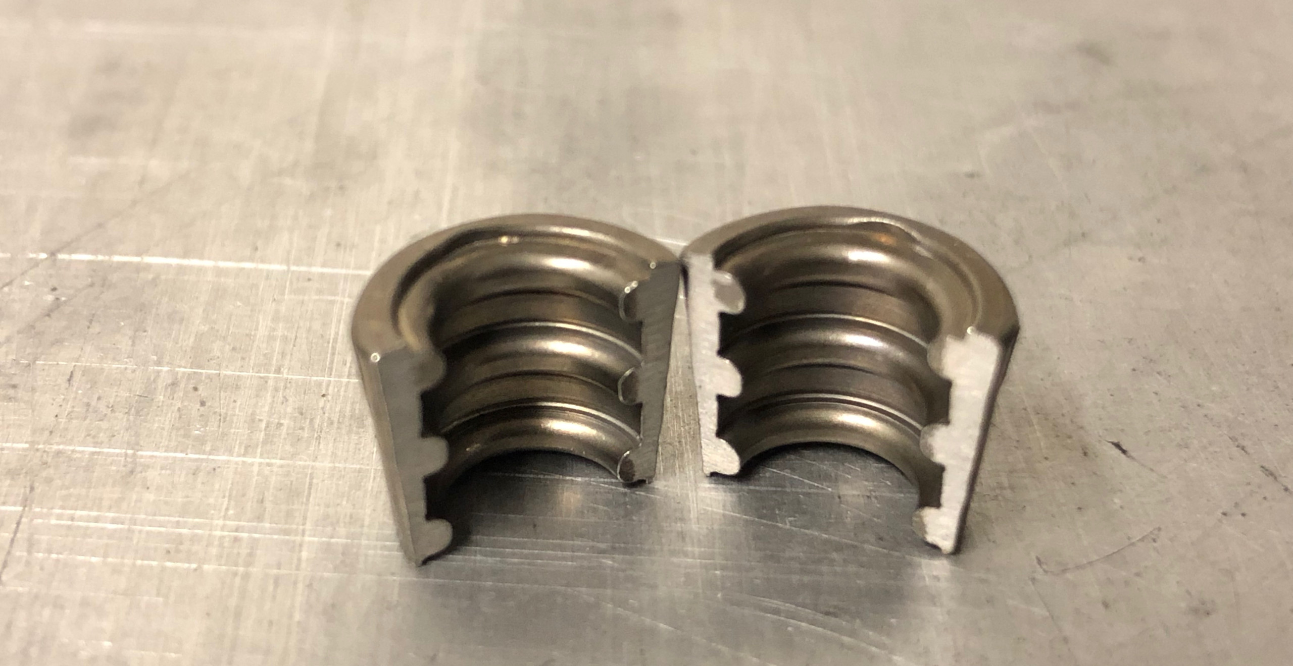 Collet retainers for Kent FF1600 engines
