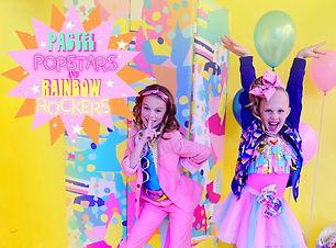 8 Pastel Popstars and Rainbow Rockers so