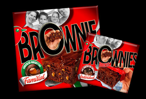 AUCHAN BROWNIES