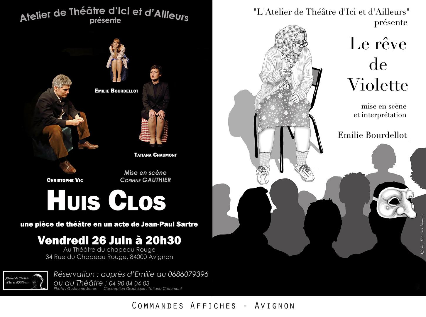 Tatiana Chaumont - Web, Art & Bio - Commandes d'affiches