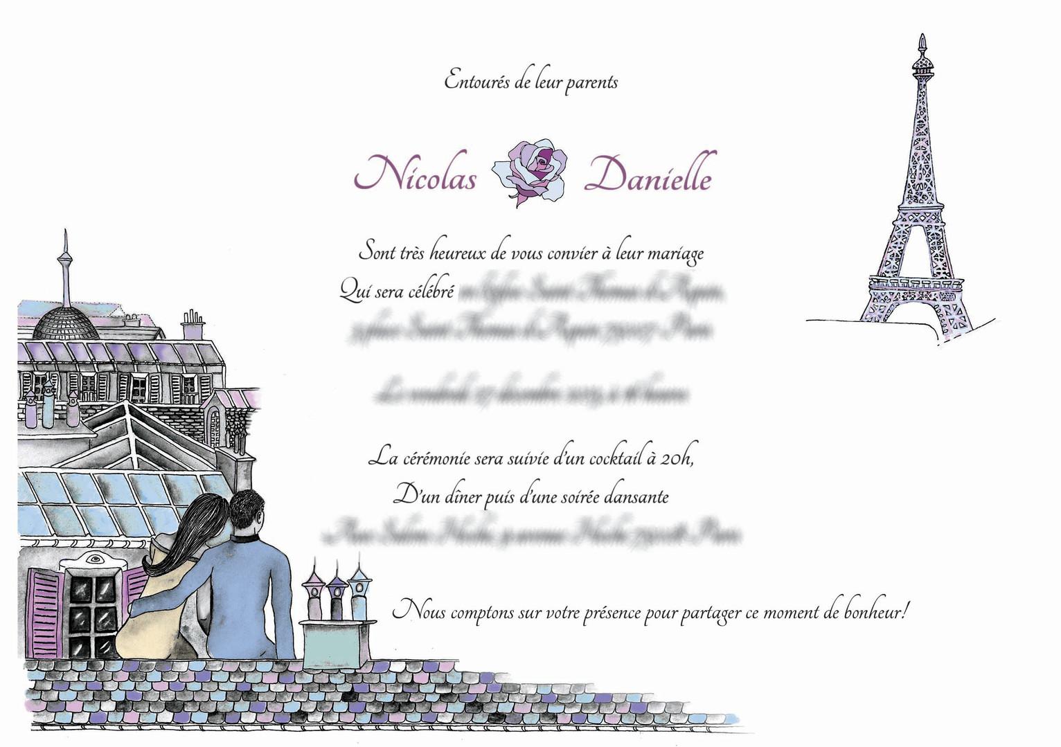 Tatiana Chaumont - Web, Art & Bio - Illustration et création de faire-part