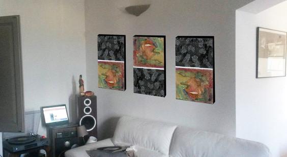 Tatiana Chaumont - Web, Art & Bio - décoration d'intérieur - simulation