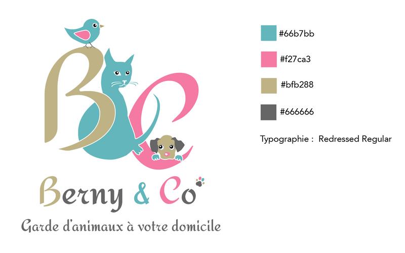 Tatiana Chaumont - Web,art & bio - Création de logo et charte graphique Bernyanco.com
