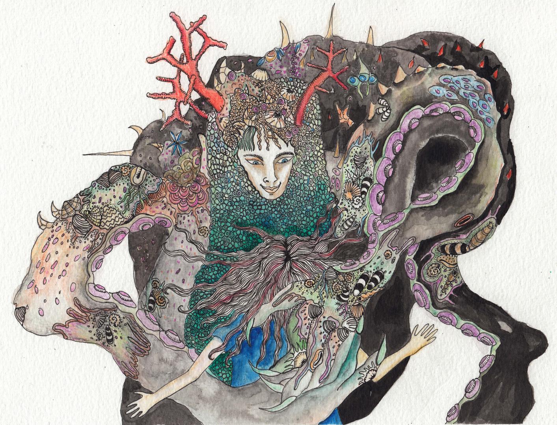 Tatiana Chaumont - Web, Art & Bio - Illustration pour couverture d'ouvrage