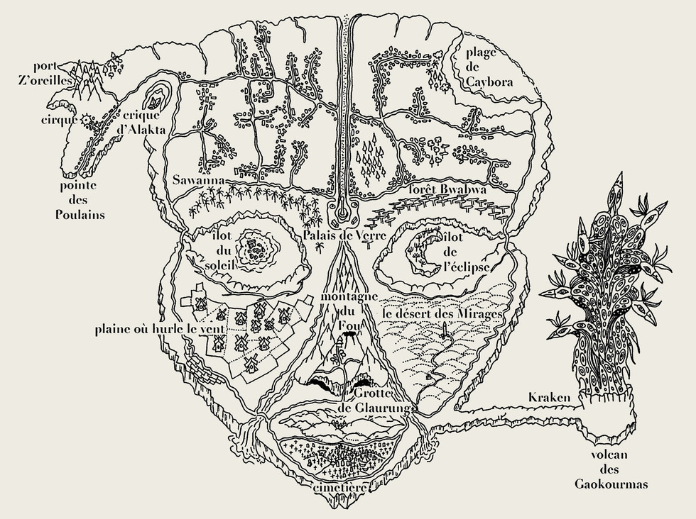 Cartographie du Royaume de Takykardy