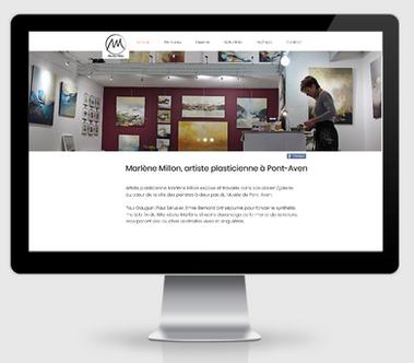 Création de site Web, Art & Bio