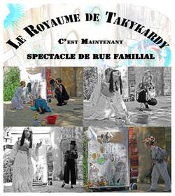 Affiche spectacle de rue