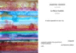 """Oeuvres de Tatiana Chaumont - À gauche extrait du projet """" temporalités abstraites"""", à droite projet """"Mein Kampf ou comment tirer les fleurs du mal"""" - 2017"""