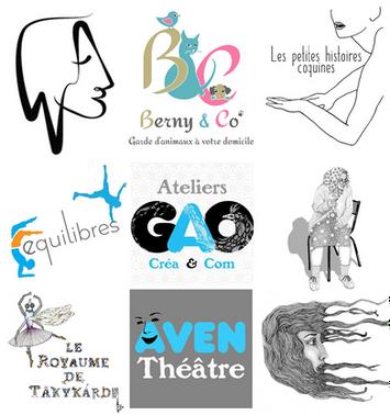 Création de logos et illustrations Web, Art & Bio