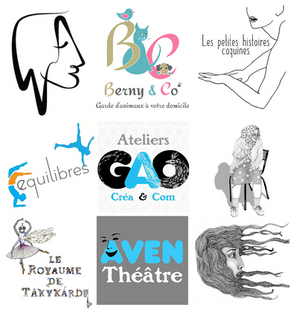 Tatiana Chaumont - Web,art & bio - Exemple de logos