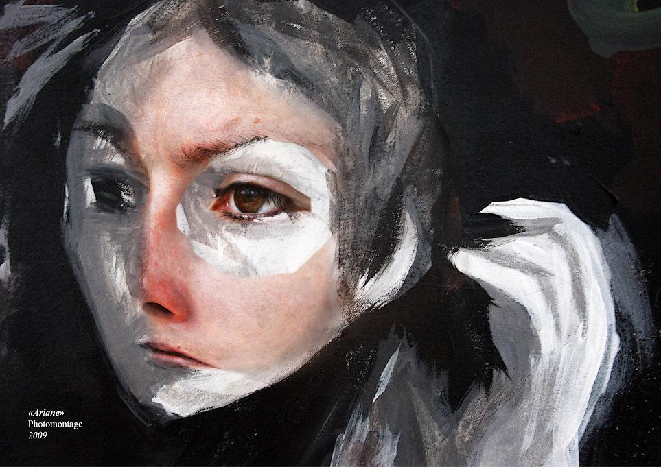 """Ariane"" - 2009 - Photomontage Par Tatiana Chaumont"