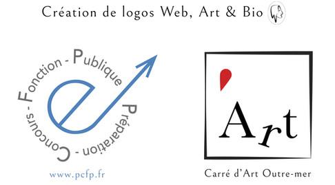 Création de logos Web, Art & Bio