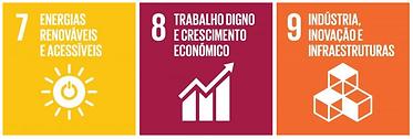 objetivos de desenvolvimento sustentável das nações unidas, 7 a 9