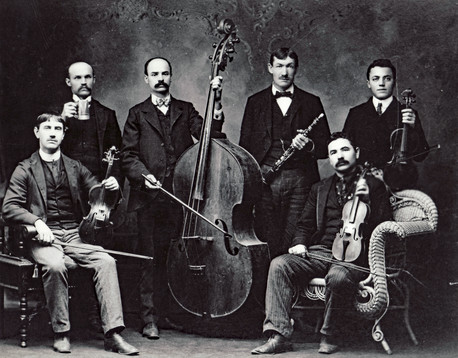 Fritz's Great Grandfather's band.