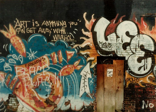 Fritz Doddy's MO,  courtesy of Andy Warhol.
