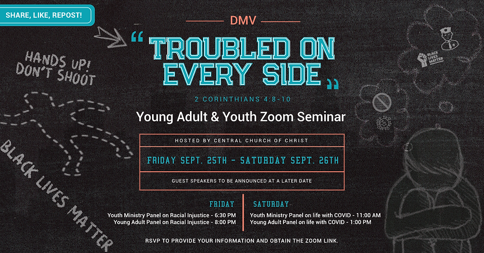 Central COC Youth & Young Adult Zoom Sem