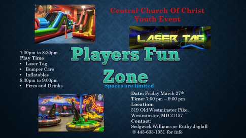 Youth Event - Players Fun Zone