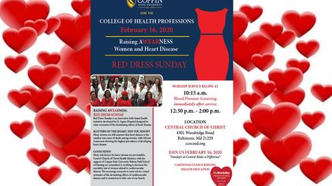 Red Dress Sunday