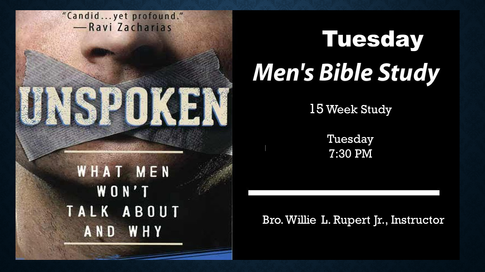 Tuesday Men's Bible Study