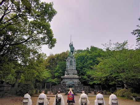 清正公勝守銅像祈願祭 ・新型コロナウイルス疫病退散祈祷会