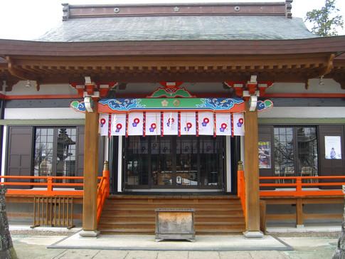 浄池廟拝殿