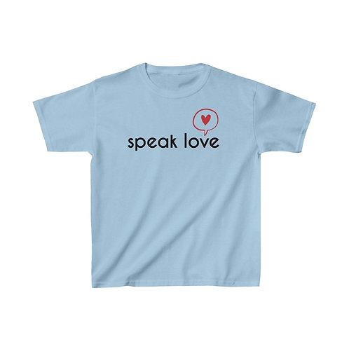 Speak Love Kids Heavy Cotton™ Tee