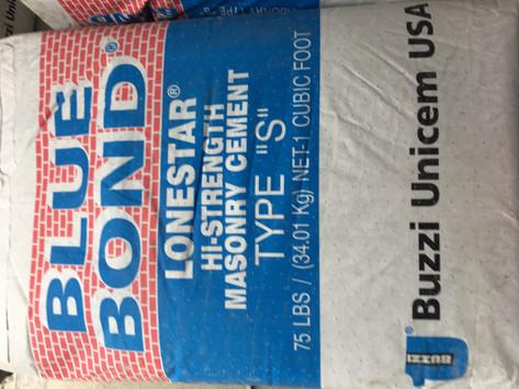 Blue Bond Hi Strength Masonry Cement