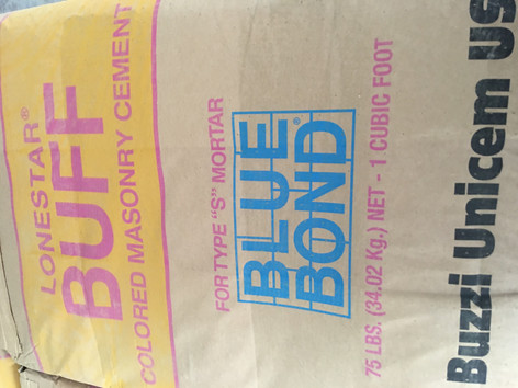 "Blue Bond Type S ""BUFF"" Mortar"