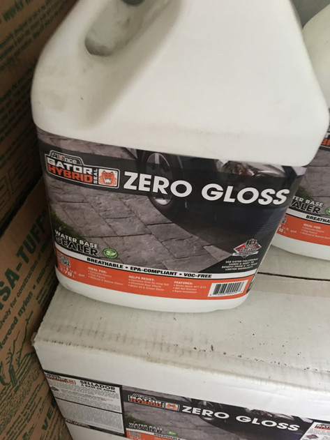 Alliance zero gloss sealer