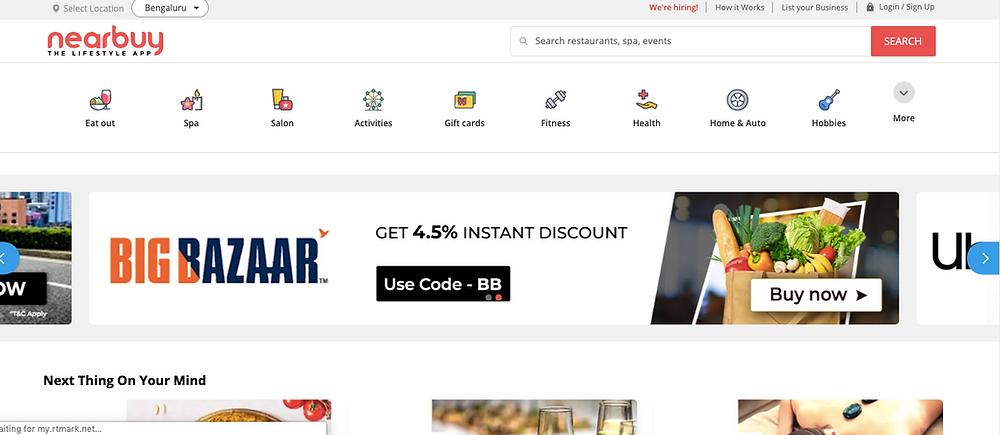 deals coupons india