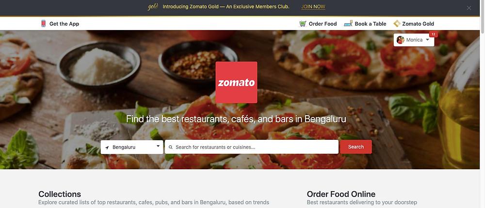 food ordering app india