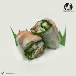 Chicken & Shrimp Spring Rolls