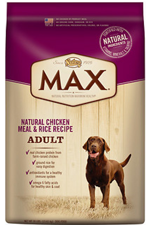 Nutro Max Adult Dog Food 15lb