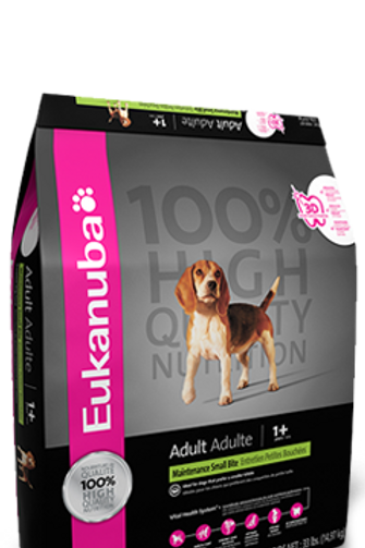 Eukanuba Maintenance Small Bite Adult 33lb