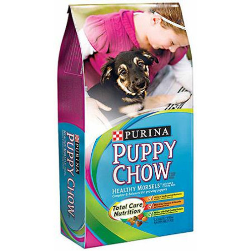 Purina Puppy Chow Healthy Morsels Puppy Food 32lb