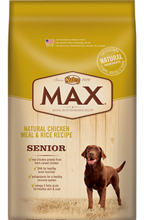 Nutro Max Senior Adult Food 15lb