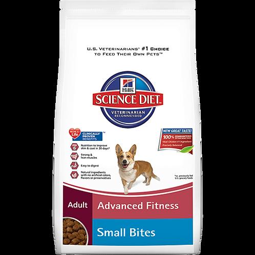 Advanced Fitness Small Bites Adult Dog Food 17.5lb