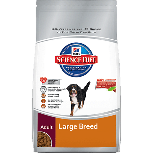 Large Breed Adult Dog Food 17.5lb